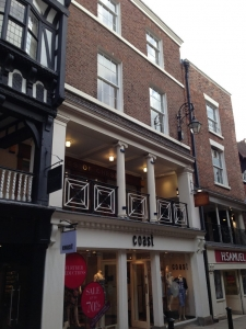 Heritage planning consultancy for a listed building in Chester